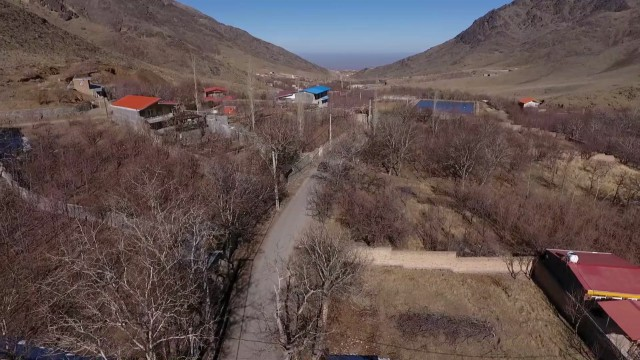 هلی شات روستای فردو
